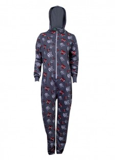onesie-heart-n-skull-grey