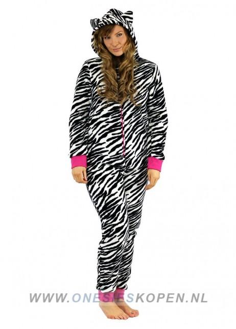 onesie zebraprint