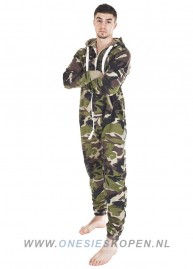camouflage onesie uniseks