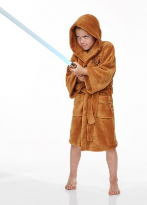 Star Wars Jedi badjas kids voor