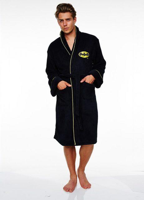 Batman badjas voor