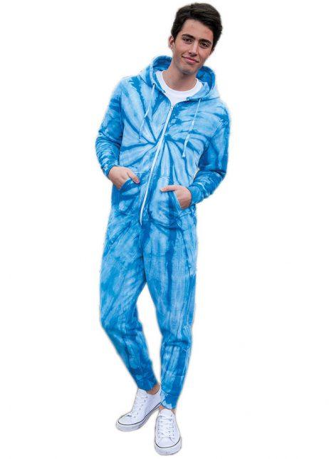 onesie blue festival madness colortone tie dye 2
