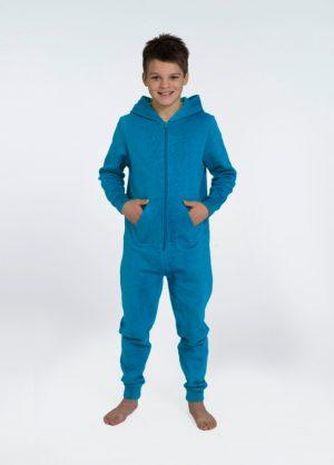 lichtblauwe onesie comfy kids