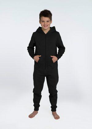 zwarte onesie comfy kids