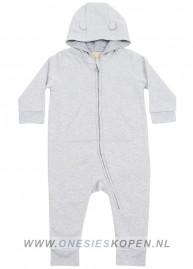 baby peuter onesie grijs