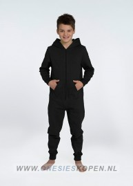 zwarte onesie comfy uniseks kids