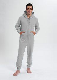 comfy onesie unisex-lichtgrijs heather-grey