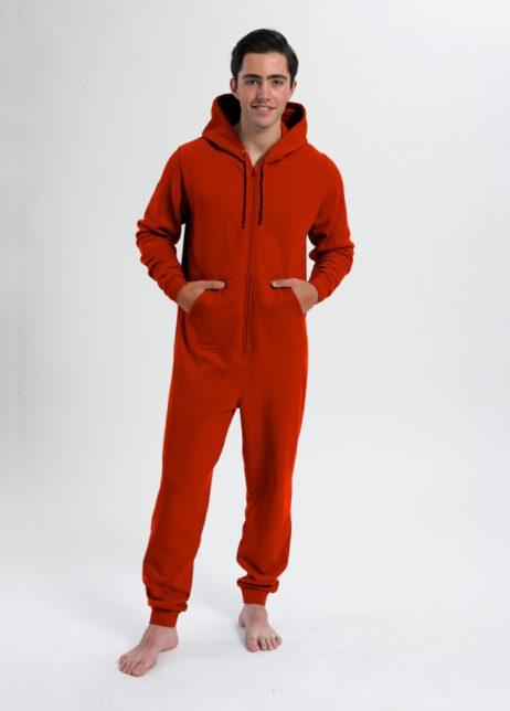 comfy onesie unisex-rood