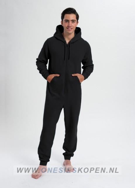 comfy onesie unisex zwart/black
