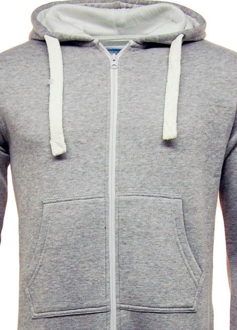 unisex onesie grijs detail