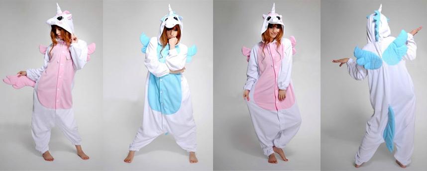 eenhoorn onesie / unicorn onesie