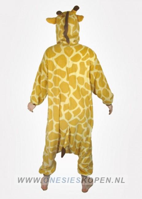 giraffe onesie kigurumi achter