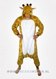 giraffe onesie kigurumi voor