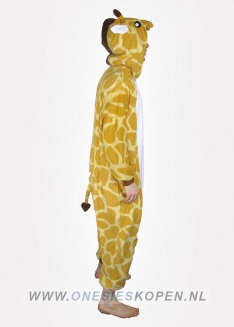 giraffe onesie kigurumi zij
