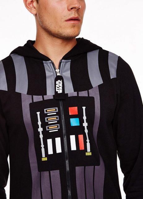 star wars Darth Vader onesie voor detail