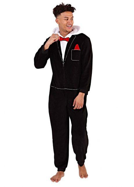 Onesie suit mens front