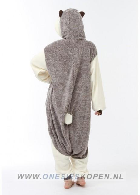 sazac egel onesie hedgehog back