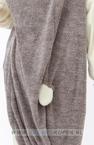sazac egel onesie hedgehog back detail
