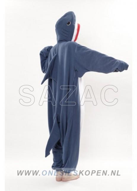 sazac haai onesie shark back