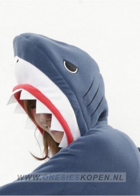 sazac haai onesie shark side detail