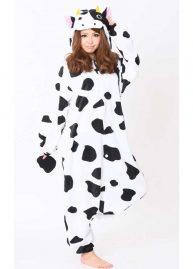 Sazac koe onesie cow front