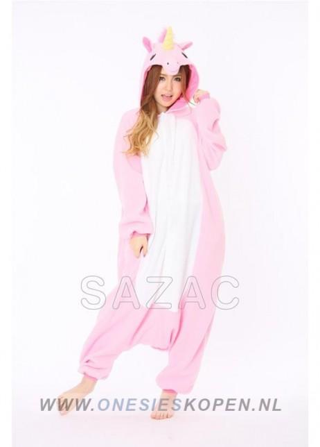 sazac roze unicorn onesie pink unicorn