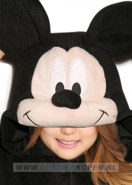 Disney Mickey Mouse onesie kigurumi sazac detail