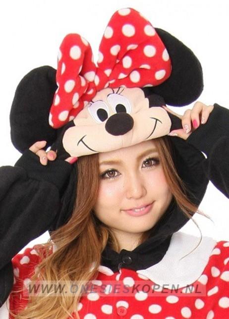 Disney Minnie Mouse onesie kigurumi sazac detail