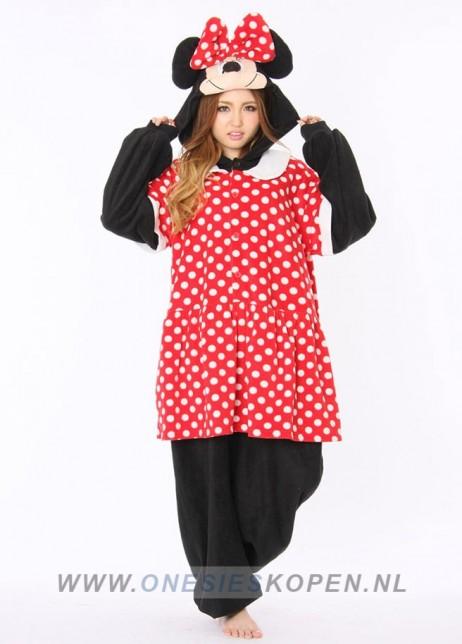 Disney Minnie Mouse onesie kigurumi sazac voor