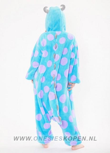 Disney Sully Monsters inc Duck onesie kigurumi sazac achter