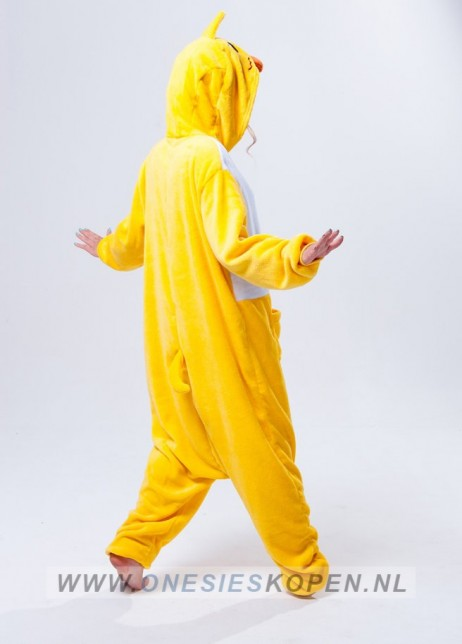 eend onesie duck kigurumi back