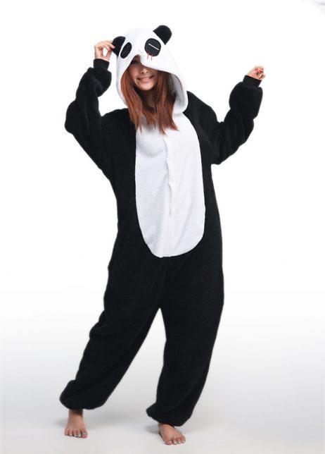 onesie japanse panda voor