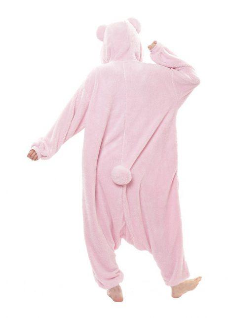 sazac teddybeer roze achter