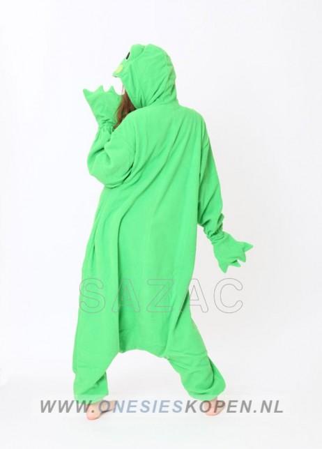 sazac kikker onesie frog back