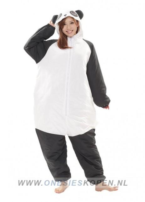 oneski skigurumi panda ski onesie