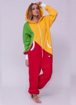 sofakiller tricolor LTU unisex onesie women