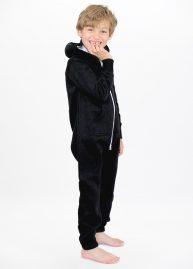 Zwarte onesie black kids side