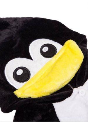 onesie pinguin penguin kids front detail
