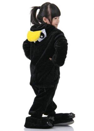 onesie pinguin penguin kids side