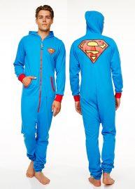 superman onesie voor achter