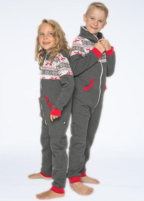 Sofakiller nordic onesie grey kids