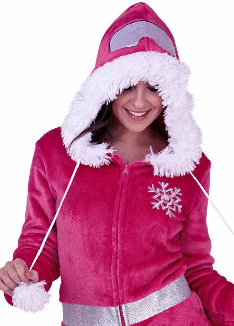 Apres-ski onesie detail