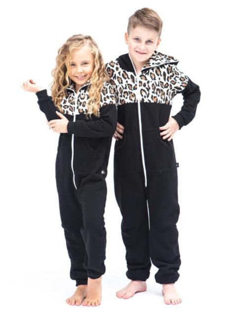 SofaKiller onesie leopard kids