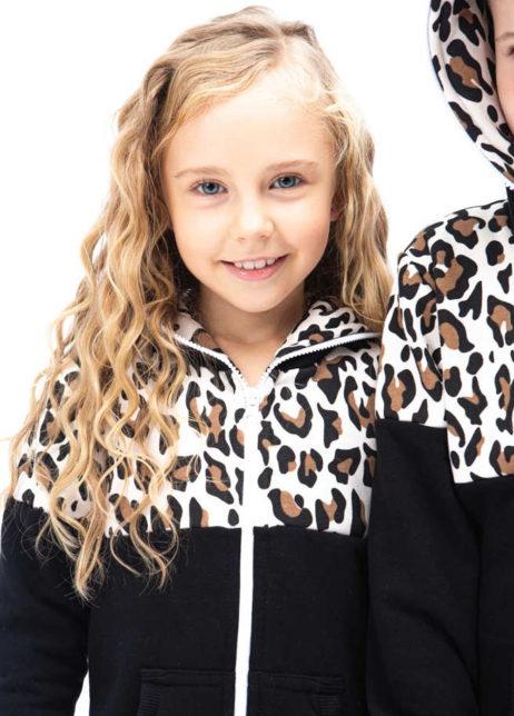 SofaKiller onesie leopard luipaard kids detail