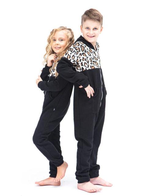 SofaKiller onesie leopard luipaard kids side